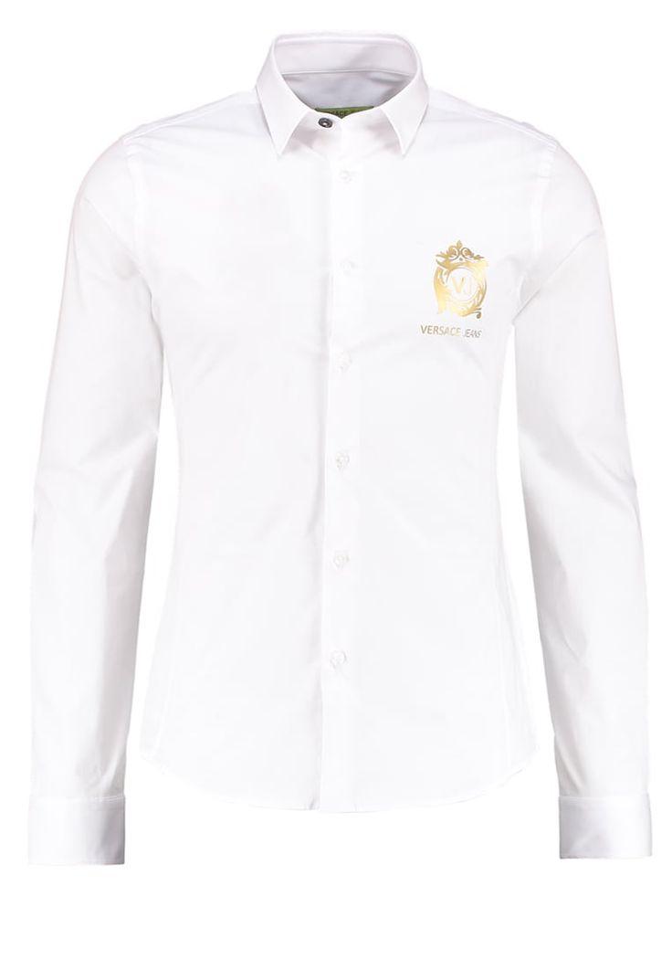Versace Jeans EXTRA SLIM FIT Hemd bianco Premium bei Zalando.de   Material Oberstoff: 97% Baumwolle, 3% Elasthan   Premium jetzt versandkostenfrei bei Zalando.de bestellen!