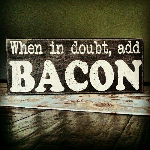 Humorous Kitchen Signs: 25+ Best Bacon Quotes On Pinterest