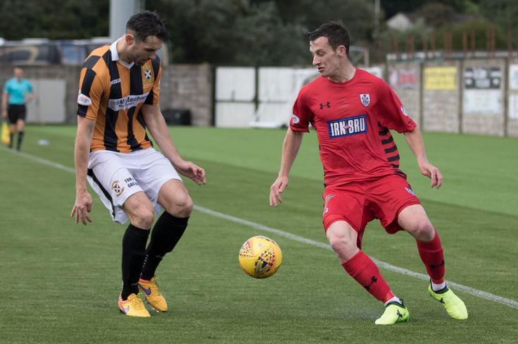 Queen's Park's David Galt in action during the SPFL League One game between East Fife and Queen's Park.