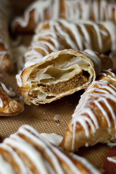 Pumpkin Turnovers | Recipe | Pastries, Thanksgiving and ...