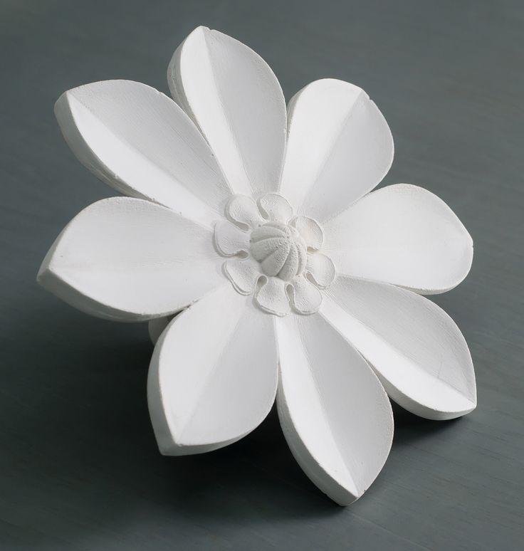 Фото цветов из гипса