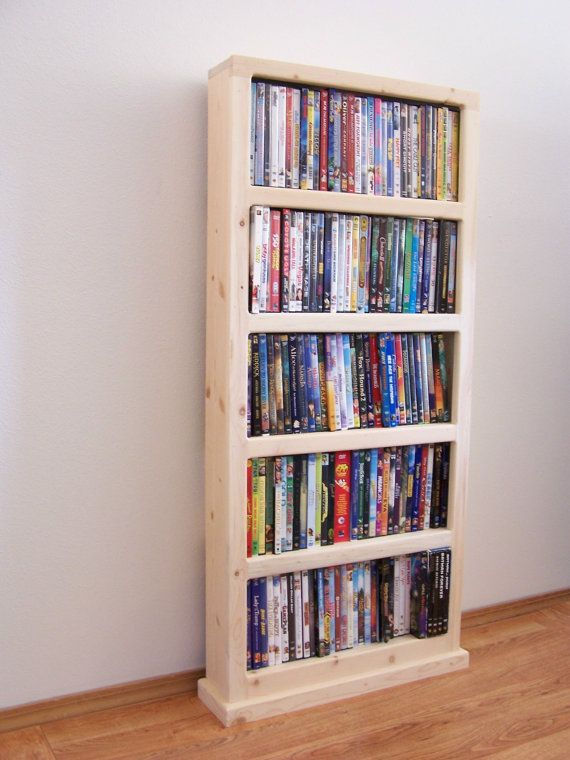 DVD Storage Case by WadesWoodWorlds on Etsy,
