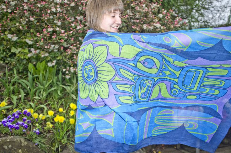 Sweet scarf! Buy this Hummingbird design scarf by Bill Helin and stand out from the crowd. Add some colour to your back to school wardrobe.