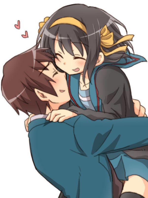 Kyon & Haruhi, by taiki (6240taiki)