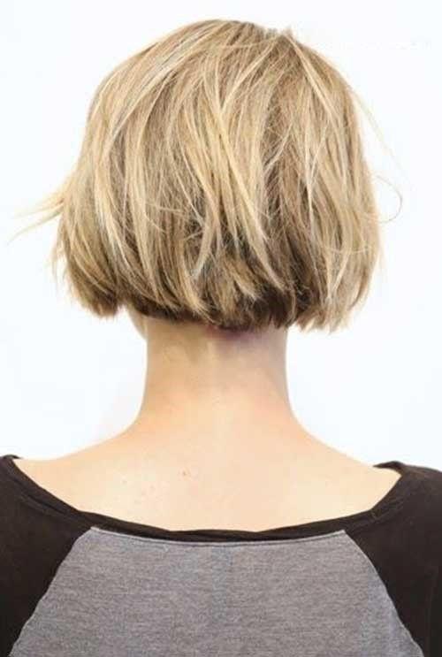 9 Kurz Abgehackt Blonde Bob Haarschnitt Hinterkopf Hair Make Up
