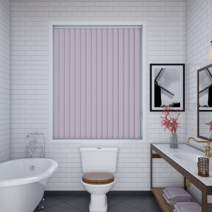 Unilux Lilac Vertical Blinds - Make My Blinds