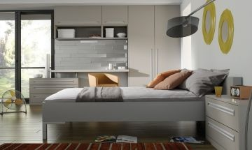 Matt Dove Grey Bedroom Doors - By BA Components