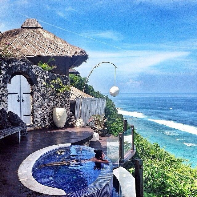 #explorebali photo today by @elizrahajeng taken at Karma Spa, Uluwatu