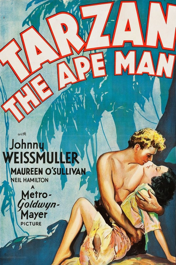 Tarzan the Ape Man (1932) Starring Johnny Weissmuller, and Maureen O'Sullivan   Classic Movie Treasures  The first sound Tarzan film, and one of the best renditions of Edgar Rice Burrough's classic jungle tales. An expedition searching for elephant ivory treasures in a graveyard is met in the wilds of Africa by ape man of the jungle, Tarzan,   Click to see where you can stream online or download for later. #ClassicMovies #OldHollywood #movies #ClassicMovieList #ClassicMoviesToWatch #1932