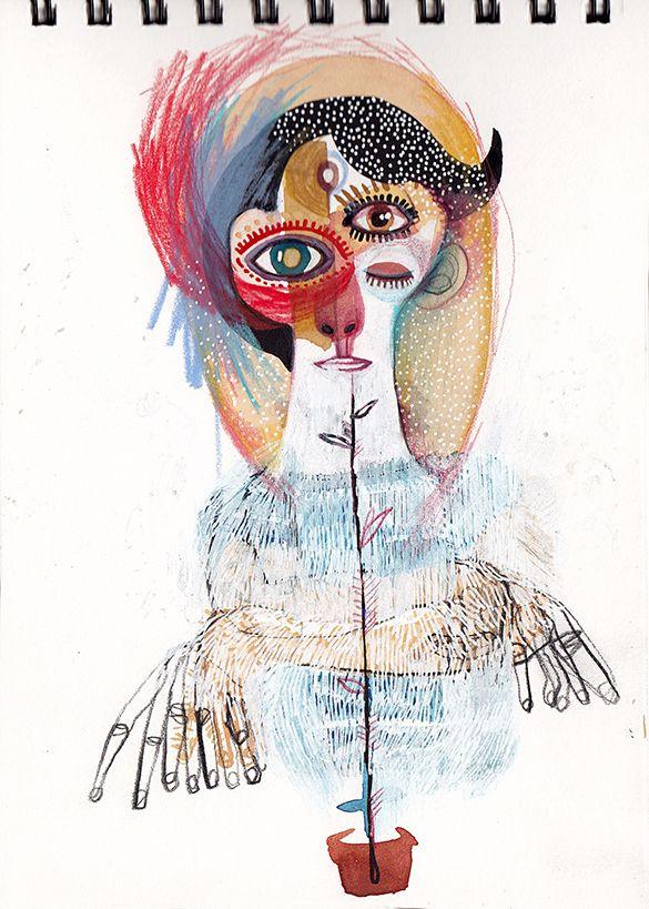Marina González Eme 'Natural women series' I