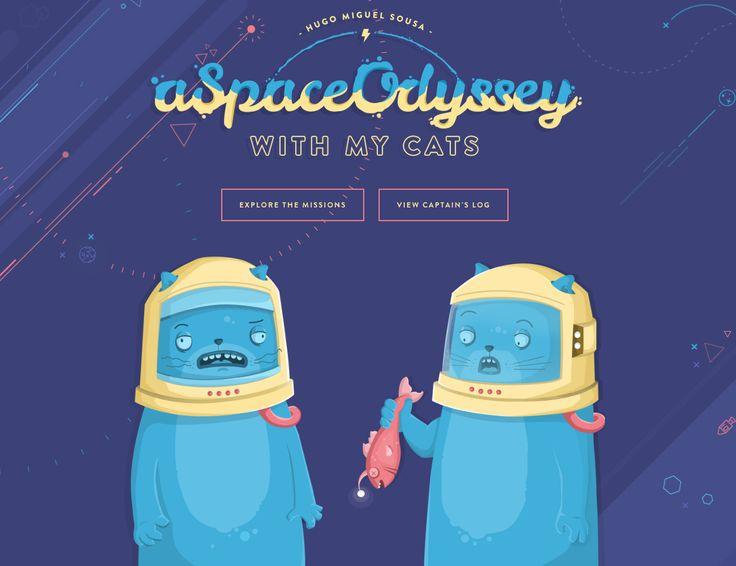 Hugo Miguel Sousa's illustrated portfolio site.