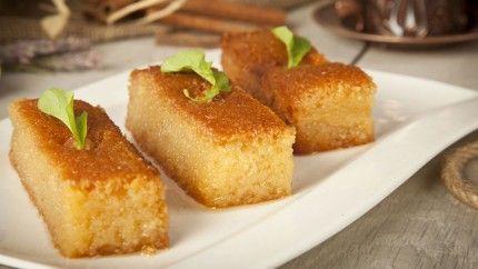 طريقة عمل البسبوسة المصرية - Egyptian #basbousa #recipe #dessert