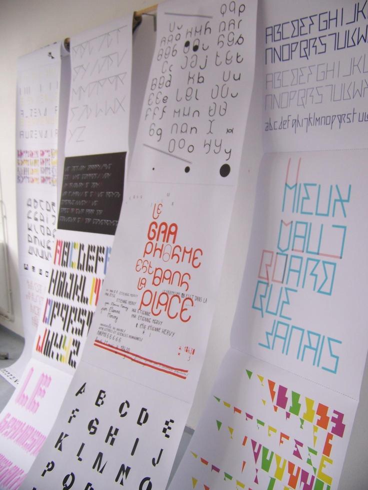Quentin Mocquard, artiste graphiste designer en résidence à la Villa Calderón de #Louviers