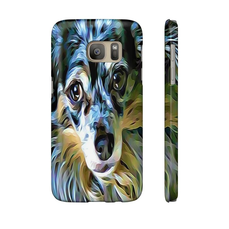Cute Dog Print IPhone - Samsung Galazy Phone Cases - 17 Sizes Available