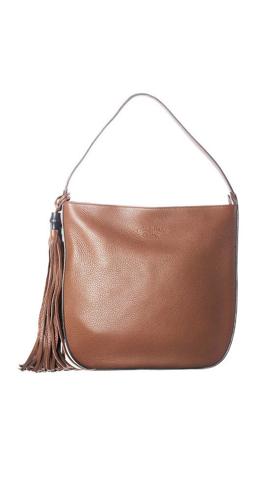 GUCCI Lady Tassel Leather Hobo in Brown features a cute & classic over the shoulder silhouette that will never really go out of style. Makes the perfect gift to give for that special lady in your life! #trendy