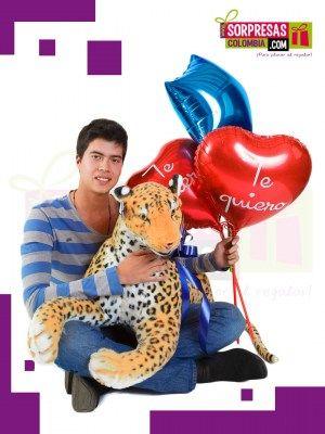 TIGRE SOLO PARA TI Sorprende con este especial peluche gigante que enamorara una vez mas a esa persona especial. Visita nuestra tienda online www.sorpresascolombia,com o comunicate con nosotros 3003204727 - 3004198