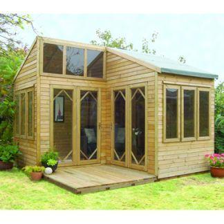 Gardeneco Eco Byron Corner Summerhouse For Sale At