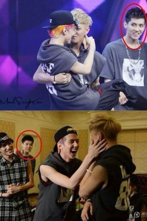 I guess there's a jealous Kris :D
