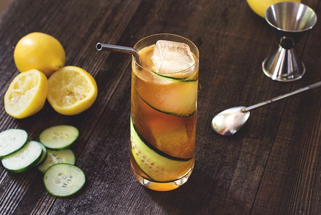 Pimm's Cup needs to be a signature drink at the bar...