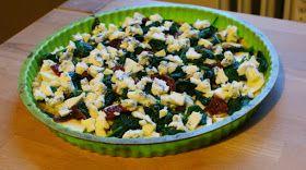 Zdrowo zakręcona: Quiche jaglana ze szpinakiem i serem pleśniowym