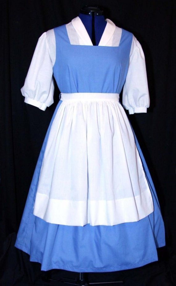 ADULT Blue BELLE Blue Provincial Costume CUSTOM Size