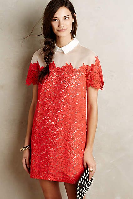 Lillan Lace Shift - #anthrofave