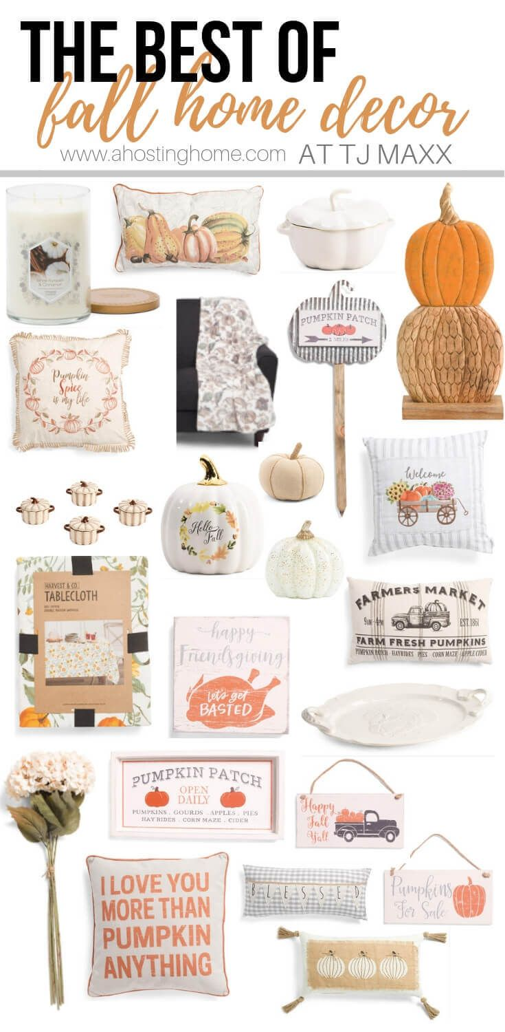 The Best Of Fall Home Decor At Tj Maxx Ahostinghome Com Fall Fall Decor Fall Home Decor Fall Decor Ide Fall Decor Fall Decor Diy Fall Living Room Decor