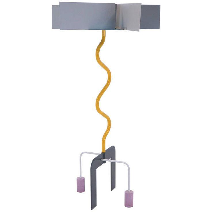 Peter Shire Elyssian Heights Floor Lamp