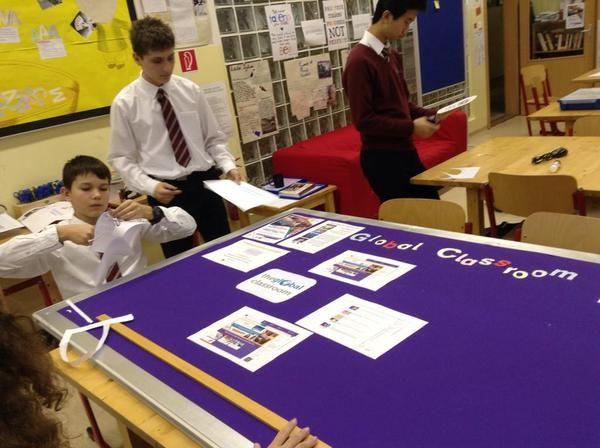 Secondary prepares their notice board