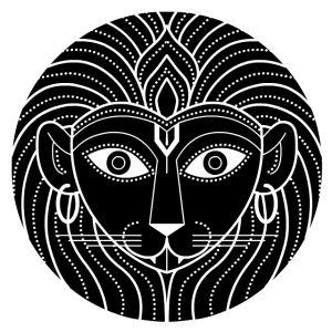 nina paley's dasavatara - narasimha, the lion-man