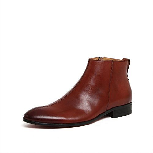 Zorgen Men's Casual Boots Genuine Leather Zipper Opening…