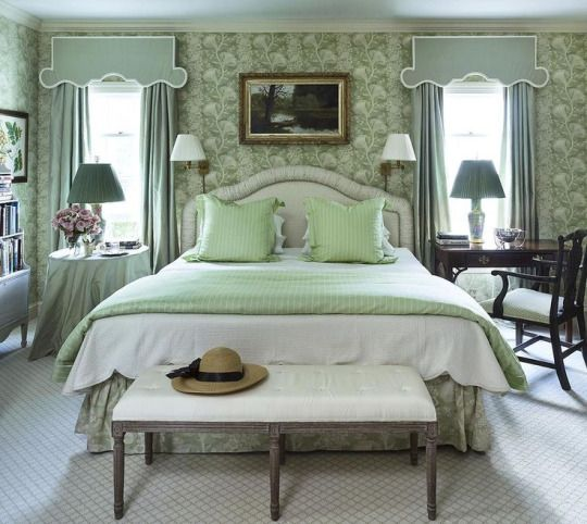 Bedroom Decorating Ideas Wallpaper Victorian Wallpaper Bedroom Bedroom Window Blinds Ideas Bedroom Colour Green: 736 Best Images About Designer: Miles Redd On Pinterest