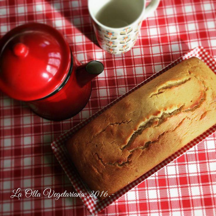 La Olla Vegetariana: Maple Cake o bizcocho de sirope de arce y harina de arroz