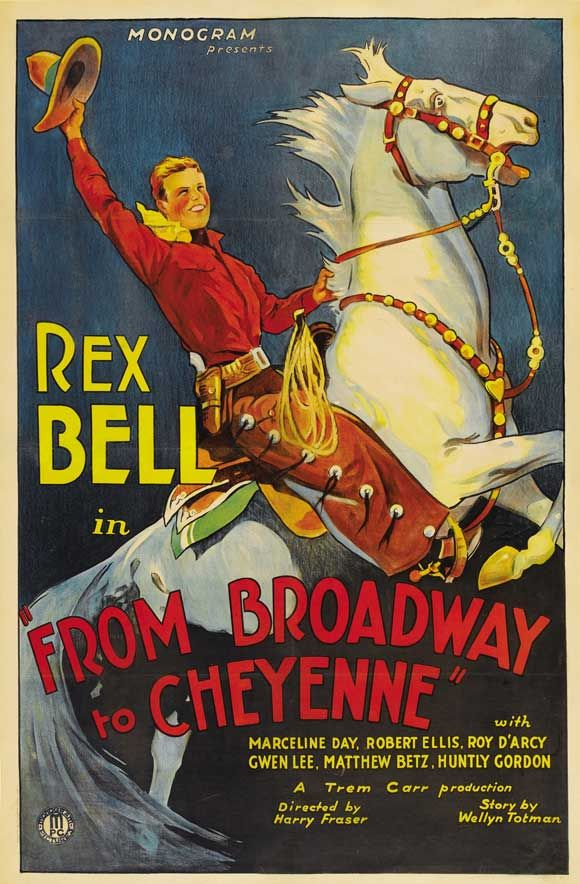 From Broadway to Cheyenne, 1932