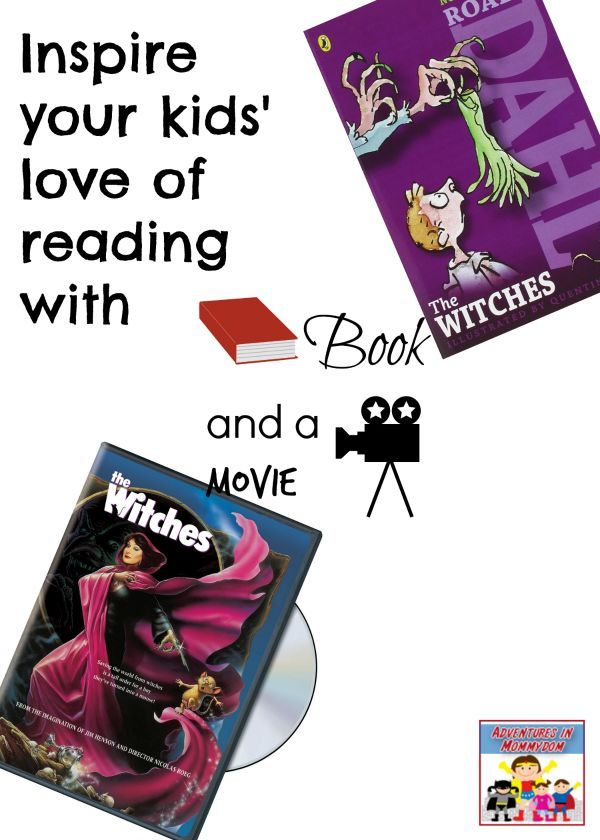 The Witches by Roald Dahl book and a movie night.