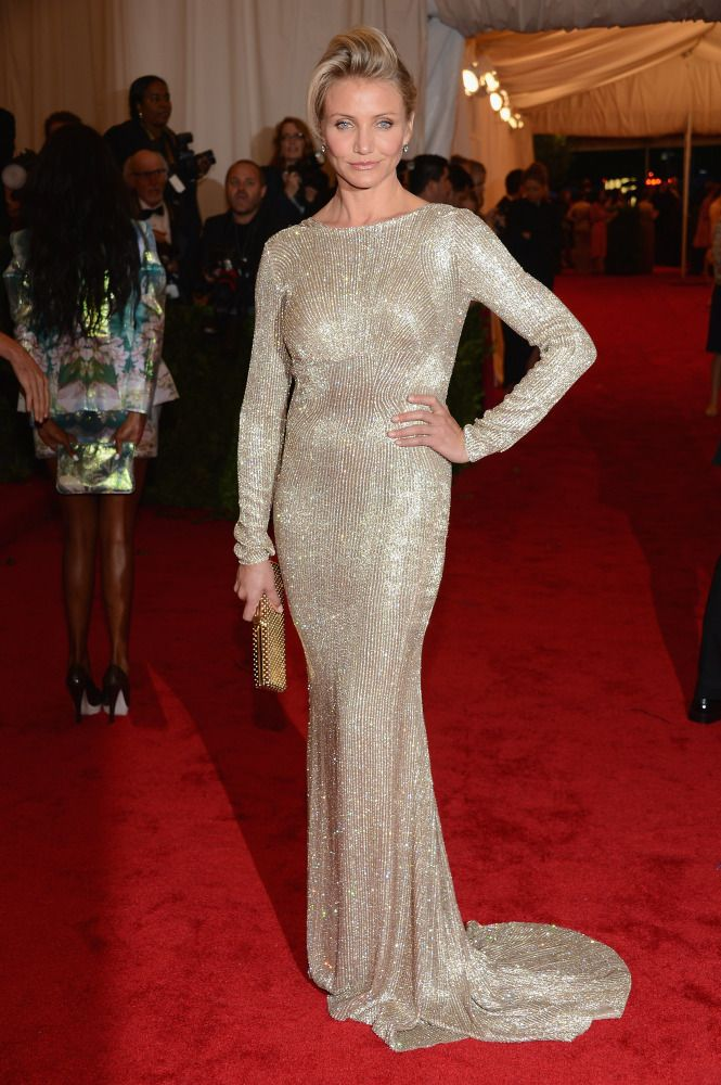 Cameron Diaz in Stella McCartney #metgala 2012