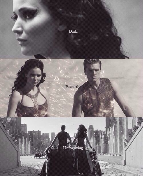 Hunger Games / Catching Fire / Peeta / Katniss