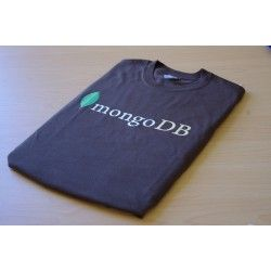 http://www.10genbrandedpromotions.com/products/174/82/mongo_db_brown_t_shirt Find us on facebook at https://www.facebook.com/JNLondon