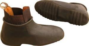 Galoše na jezdecké boty nepromokavé 37-38 černé
