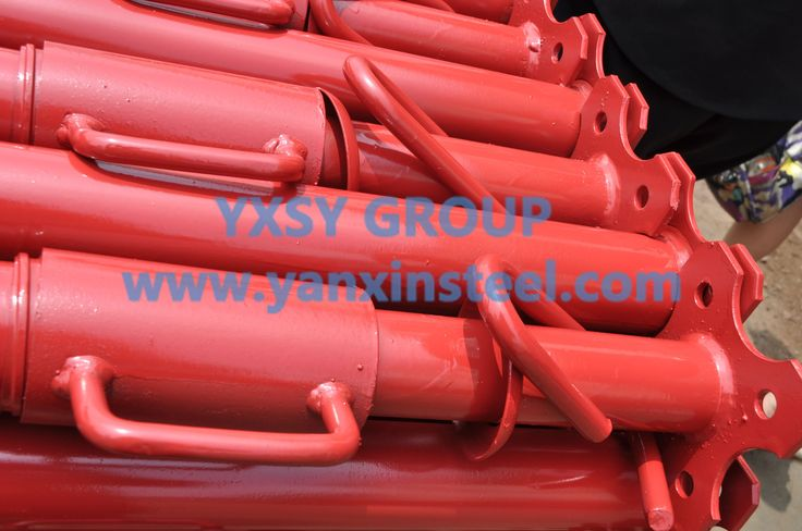 This is our #BaseJack, we can pack it with steel strips、film or as customer's requst. http://www.yanxinsteel.com/scaffolding-accessories/