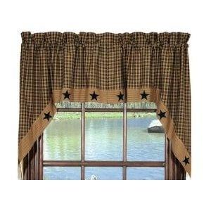 Cute primitive curtains