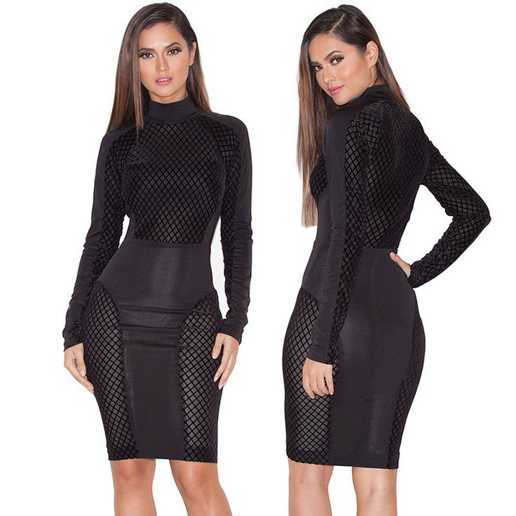 S-XL New Arrival Summer 2016 Black Patchwork Mesh Sheer Party Dresses Stretchy Sexy Club Wear White Bodycon Dress Plus Size