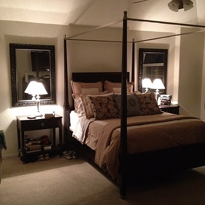 Master Bedroom Mirror top 25+ best mirrors behind lamps ideas on pinterest