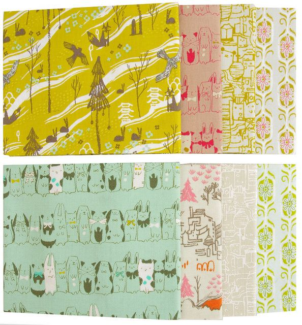 Tokyo Train Ride by Sarah Watts for Cotton and Steel