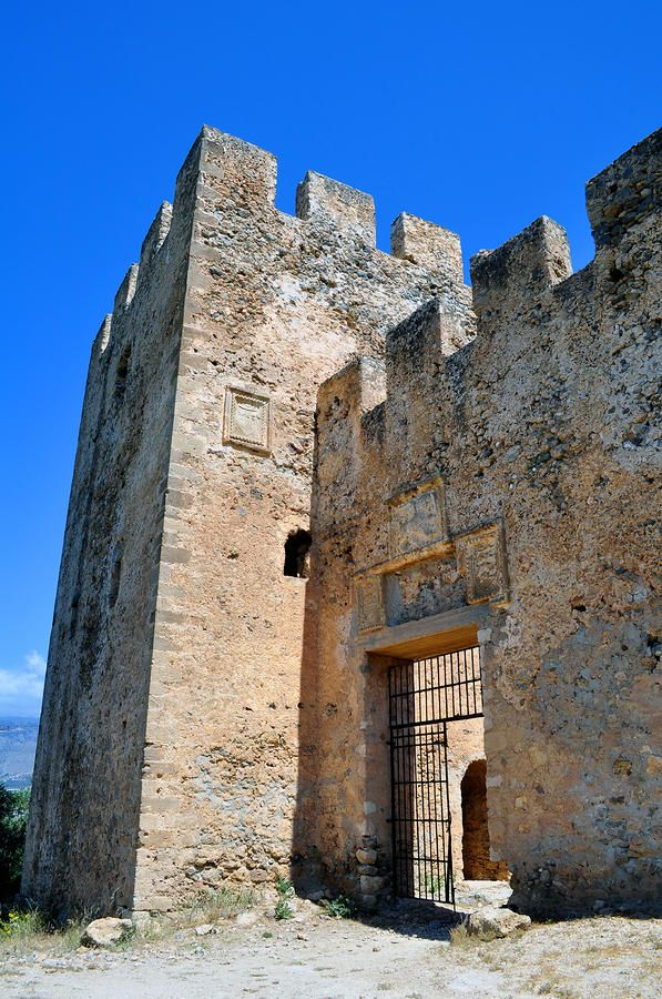 Frangocastello: Venetian Castle on the south coast of Crete.