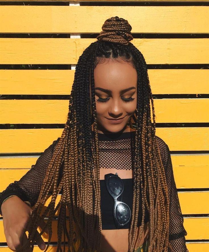 17+ Small medium box braids hairstyles ideas in 2021