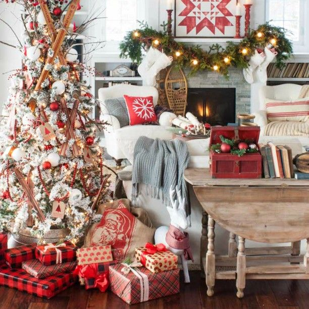 Swoon Worthy Christmas House Tour: 1000+ Images About Noël / Christmas On Pinterest