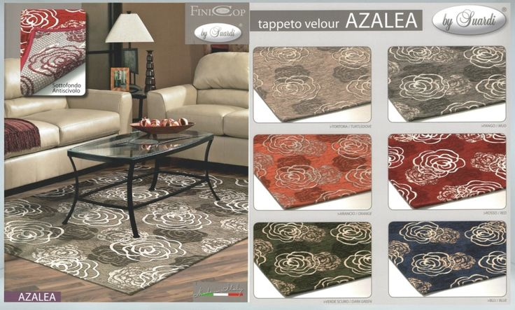 TAPPETI ARREDAMENTO AZALEA ANTISCIVOLO Bellissimi scendi letto adatto anche per bagni e ingressi. Fondo antiscivolo. Lavabile in lavatrice a 40C° Made in Italy. Colori disponibili: Arancione, Rosso, Grigio fango, Beige, Blu, Verde Materiale: 50% Cotone 30% Poliestere 20% Acrilico Dimensione: 65x110cm. http://www.ebay.it/itm/TAPPETI-ARREDAMENTO-AZALEA-SOGGIORNO-O-CAMERA-ANTISCIVOLO-/272322043444?var=&hash=item3f67a89e34:m:mCAOIghGivVLLKRlUW_sQLw Prezzo: 19,00€