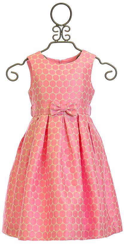 Rachel Riley Spot Party Dress for Girls (4 & 7)