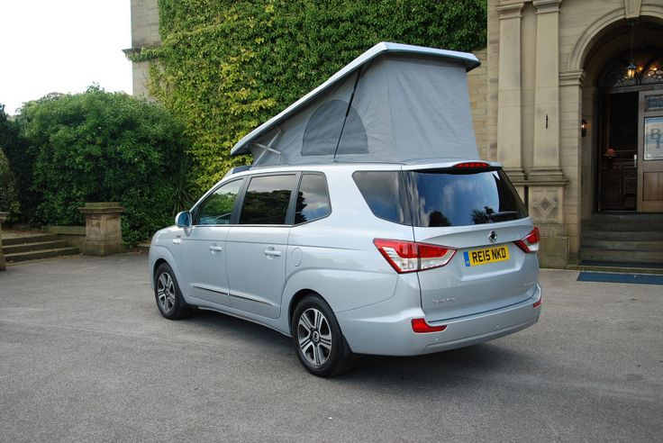 SSANGYONG PREVIEWS NEW TURISMO TOURIST CAMPER AT THE MOTORHOME &… - SsangYong GB